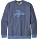 Patagonia M's Flying Fish Midweight Crew Sweatshirt Dolomite Blue